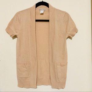 JCREW 100 percent cashmere cardigan- perfect- sz S